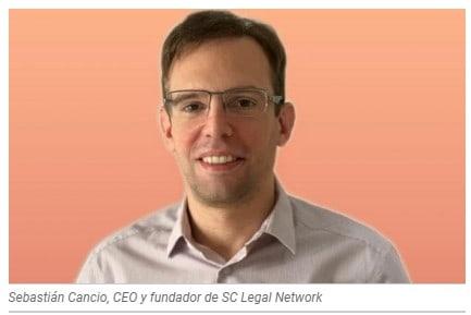 Sebastian Canciom CEO y fundador de SC Legal Network